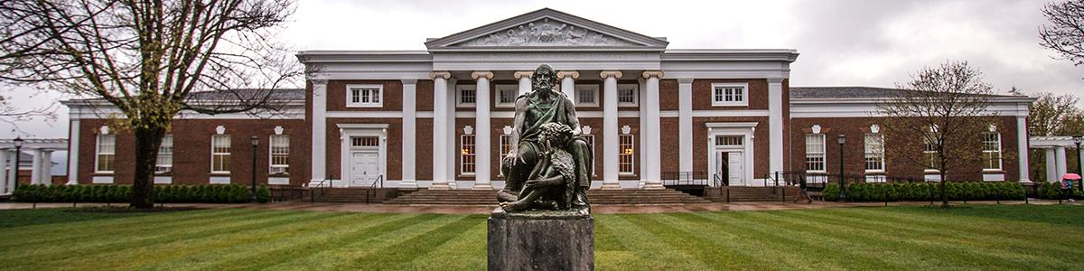 Homer Statue Old Cabell Hall