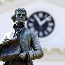 Rotunda Thomas Jefferson Statue